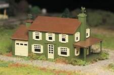 BACHMANN PLASTICVILLE TWO-STORY HOUSE BUILDING KIT O GAUGE