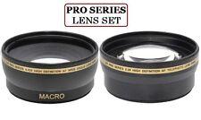 Lens Set For Panasonic Lumix DMC-G1 DMC-G2 DMC-G3 DMC-GF3 DMC-GF2 DMC-GF1