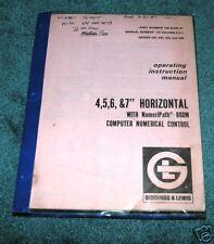 "G & L Cnc 4,5,6,7"" Horizontal Bar Machine"