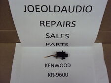 "Kenwood KR 9600 Mic Input Jack. 1/4"". Tested.  Parting Out KR 9600 Receiver."