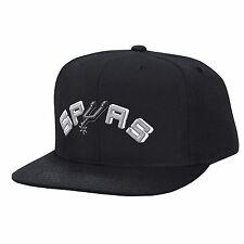 58ce8345150 ... netherlands san antonio spurs nba mitchell ness solid logo snapback hat  cap black fac2a 2255c