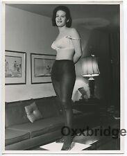 Mega Nylon Stockings Wholesome All American Girl 1960 PHOTO 8x10 Sexy 1535