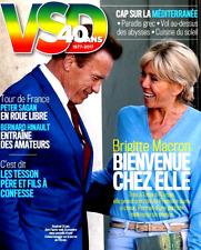 VSD n°2079 du 5/7/2017**Brigitte MACRON & SCHWARZENEGGER**TOUR de FRANCE**TESSON