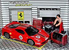 Ferrari 458 Desafío 2009-15 #5 rojo rojo 1:43 Bburago Race & Play