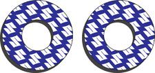 Blue Factory Effex FX Suzuki Grip Donuts RM 65 80 85 100 125 250 Z250 Z450 450