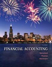 Financial Accounting by J. David Spiceland, Don Herrmann and Wayne Thomas (2013,