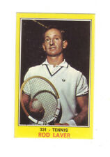 ROOKIE CARD ROD LAVER VALIDA PANINI MINT 1970 DIRECTLY FROM PACKET