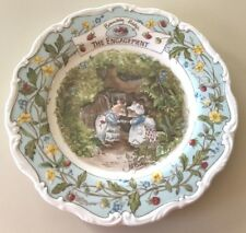 "❤️BRAMBLY HEDGE ~  ""THE ENGAGEMENT"" 💍  ROYAL DOULTON ~ CHINA PLATE ~ RARE HTF❤️"