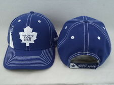 Toronto Maple Leafs Reebok NHL Blue W/ White Stitching Adjustable Hat Cap