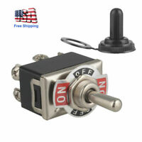 Heavy Duty 20A 250V DPDT 6Pin On/Off/On Toggle Switch Maintained 3 Position+Boot