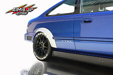 Aim9 Gt Fender Flares 50mm wide FRP Honda Civic Em2 FC3S ej ek ef dc2 Pair 2pc