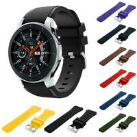 For Samsung Galaxy Watch 46mm Silicone Fitness Replacement Wrist Strap