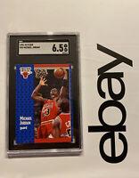 Michael Jordan SGC 6.5 Fleer Man Cave 1991 Card Collector Chicago Bulls #29 NR