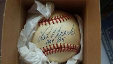 """Lou Brock  Autographed Baseball """"St. Louis Cardinals  """""""