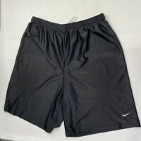 Nike Men's Black Basketball Athletic Running Training Shorts Size XL (Read Desc)