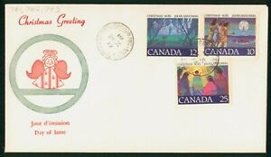 MayfairStamps Cover 1977 Christmas Greeting Canada FDC 1977 First Day Cover wwp5
