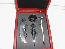 Weingarnitur Dekantierset Sommelier - Set Korkenzieher,Thermometer etc.
