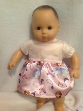 """15"""" Bitty Baby Disney Sofia the First princess dress twins girl Doll Clothes"""