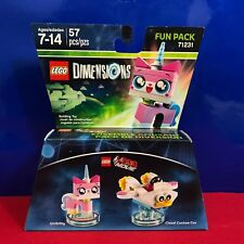 Lego Dimensions Lego Movie Unikitty Fun Pack 71231 New