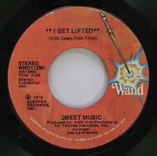 Soul 45 Sweet Music - I Get Lifted / I Get Lifted (Instrumental) On Wand