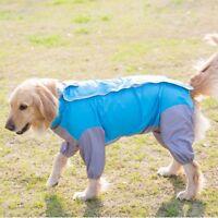 Waterproof Dog Raincoat Small Large Pet Rain Jacket Coat Rainwear Clothes S-7XL