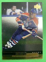 1999 Upper Deck Gold Reserve #4 Wayne Gretzky Edmonton Oilers