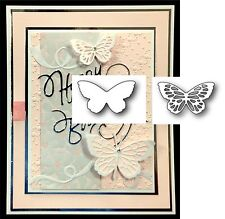 Butterfly BUNDLE metal die set - Elsa and Lyndon butterflies Poppystamps dies