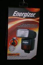 Energizer ENF-600S Digital TTL Shoe Mount Flash for Sony Minolta Cameras