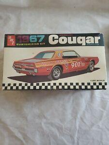 AMT 1967 Mercury Cougar 1:25 Model Kit