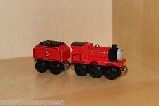Thomas The Tank Engine Wooden Railway TALKING RAILWAY GOLD MAGNET JAMES & TENDER