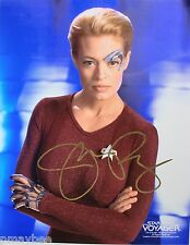 "Jeri Ryan Autographed Photo 8""X10"" as Seven of Nine in STAR TREK VOYAGER"