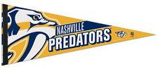 NASHVILLE PREDATORS NHL Hockey Team Premium Felt NHL Hockey Collectors PENNANT