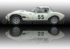 1966 Ginetta GQ4 Coupe Classic Vintage Race Car Photo CA-1242
