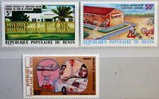 BENIN 1976 75-77 354-56 Blood Bank Blutspendedienst Medizin Medicine 1st Aid MNH