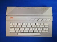 Atari 65 XE - Complete ready to play setup - Joystick,cables,software