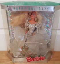 1992 Special Edition Happy Holidays Barbie Doll Mattel