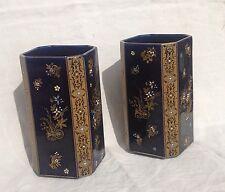 Paire de vases DE BRUYN Art Nouveau Art Deco 1915/25 Faïence de Fives à Lille
