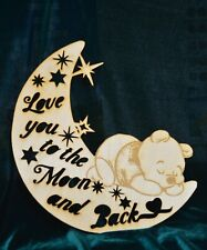 Winnie the Pooh - I love you to the moon and Back