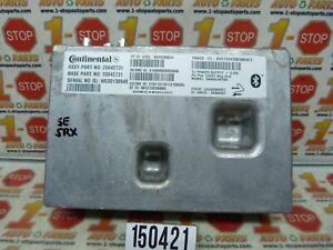 2010 10 CADILLAC SRX ONSTAR COMMUNICATION CONTROL MODULE 20842731 OEM