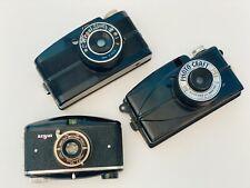 Lot of Vintage Cameras Argus Model M, 828 film + Regal & Photo Craft Bakelite
