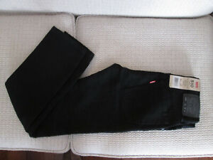 LEVI'S 510 Skinny Size 12 boys Adjustable Waistband Stretch Black