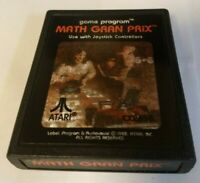Atari 2600 Game - Math Gran Prix CX2658