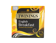 Twinings English Breakfast 100 teabags - Sold by Peripheral Centre