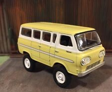 1965 Ford Econoline Van Lifted 4x4 Custom 1:64 Diecast Off Road Mud Farm Truck