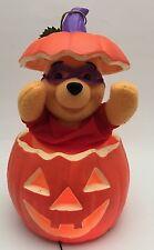 Telco Motionette Winnie The Pooh Animated Jack O' Lantern Pumpkin Halloween