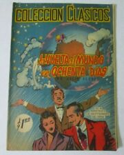 1956 CLASSICS comic mexican AROUND THE WORLD IN 80 DAYS JULES VERNE illustrated