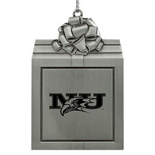 Niagara University -Pewter Christmas Holiday Ornament-Silver