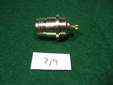 N(F) Panel Mount Connector - Solder - Gold! New! w/o Hdw