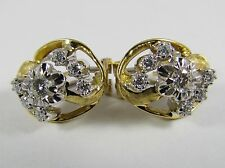 Diamant Brillant Ohrstecker 18K 750 Gold 0,76 ct. Fabio Giorgio Limone Bicolor