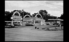 Vintage McDonald's Restaurant PHOTO Sign Burger Joint Drive-In Old Classic